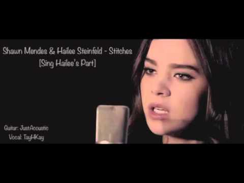 Stitches - Male Part Only Cover Shawn Mendes & Hailee Steinfeld Acoustic Karaoke/Instrumental
