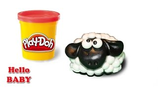 Surprise Clay Shaun Sheep Play Doh Huevos Sorpresa, Disney Toy Surprises