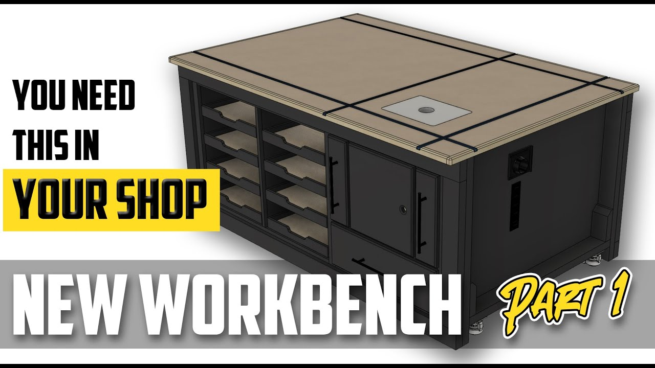 The Perfect Garage Workbench & Outfeed Table \\ Part 1