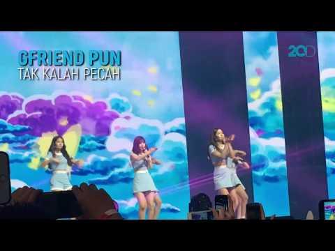 Pecah! Aksi Artis-artis Korea di Music Bank Jakarta