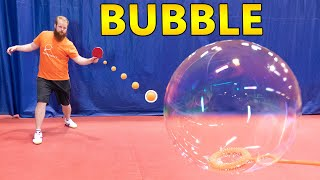 Bubble Bursting Trick Shots