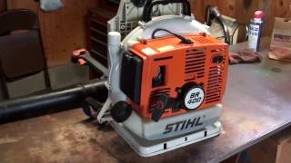 Stihl BR 400 Backpack Blower Review