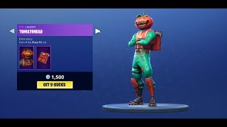 TOMATO HEAD SKIN IS BACK! Fortnite Battle Royale Daily Item Shop