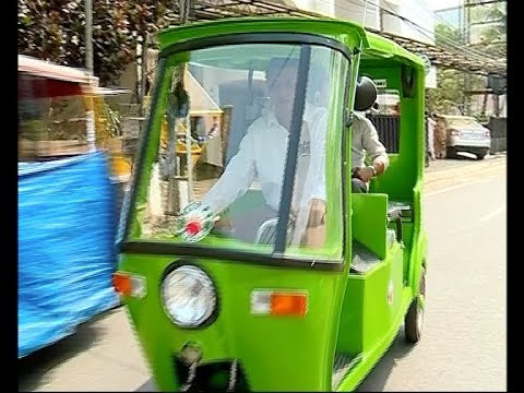 Solar powered rickshaws to run on the streets of Kochi