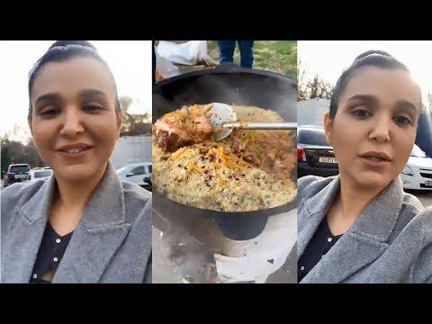 Nilufar Usmonova qizlar ham 3 porsiya osh yeya olishini isbotladi l Bunaqasi hali bo'lmagan