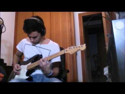 Extremoduro puta guitar cover (+ solo)