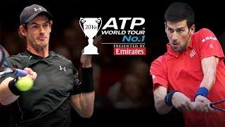 Murray & Djokovic Do Battle For Year End No 1 Spot