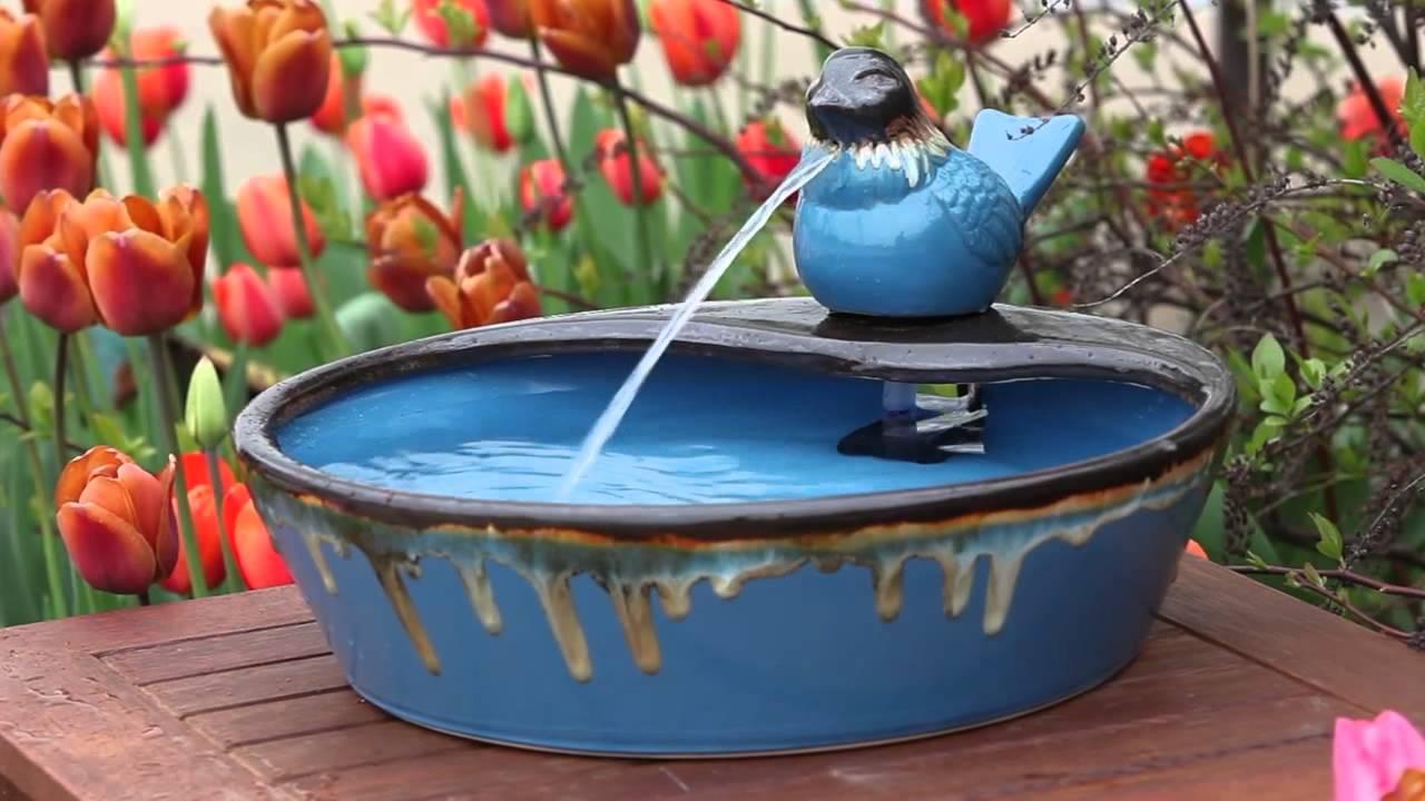 Bon Bird Tabletop Fountain From Evergreen Garden (845086)