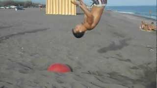 Vacaciones camping almayate beach 2012 :)