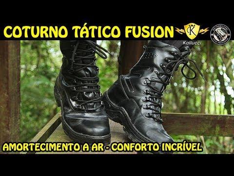 710d581b39 COTURNO TÁTICO FUSION - MAIS CONFORTÁVEL QUE MEU TÊNIS COM ...