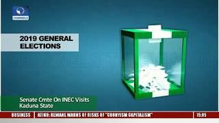 2019 Elections: Senate Cmte On INEC Visits Kaduna State