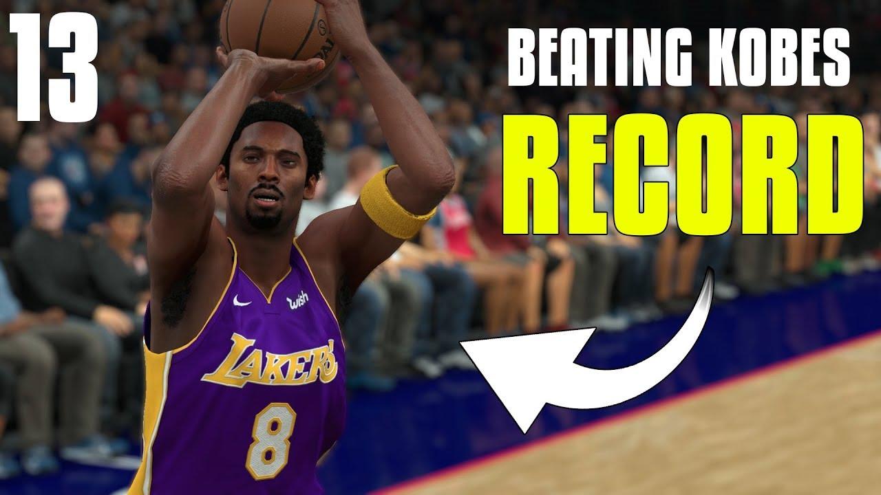 innovative design 3663e 08314 Can I Beat Kobe Bryants 81 Point Scoring Record    NBA 2K18 Kobe Bryant  MyCareer  13