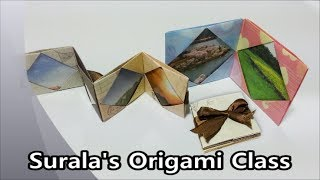 Origami - Photo Book &  Picture frame / 종이접기 - 포토북, 액자