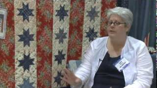Laurie Simpson At Quilt Market