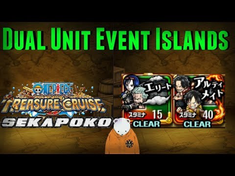 Complete Dual Unit Luffy & Ace Event Islands Guide (Fails Included)   One Piece Treasure Cruise