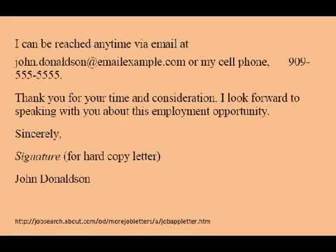 Contoh Resume Bahasa Inggris Lamaran Kerja Via Email Youtube