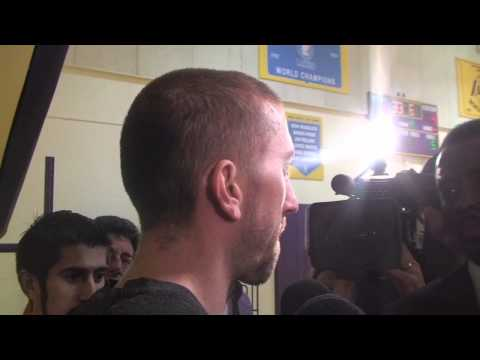 Lakers guard Steve Blake on receiving death threats after Game 2 loss to Oklahoma City