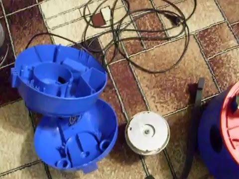 Ремонт пылесоса TOMAS или чистка фильтра двигателя.