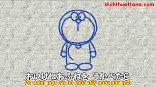 Doremon tập vẽ bằng tiếng Nhật   dichthuattana com