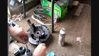 2002 Honda Civic front end ball joint and LCA bushings replacement