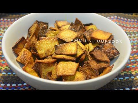 മിനിറ്റുകൾക്കുള്ളിൽ ഒരു സിംപിൾ ചിപ്സ് /ചേന ചിപ്സ് /Chena Chips /Yam Chips /Recipe no: 86