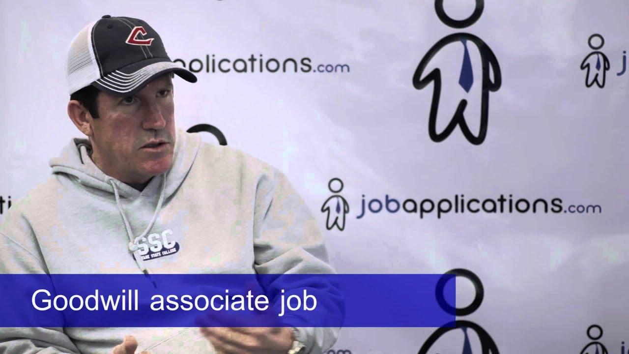 goodwill store associate job description salary
