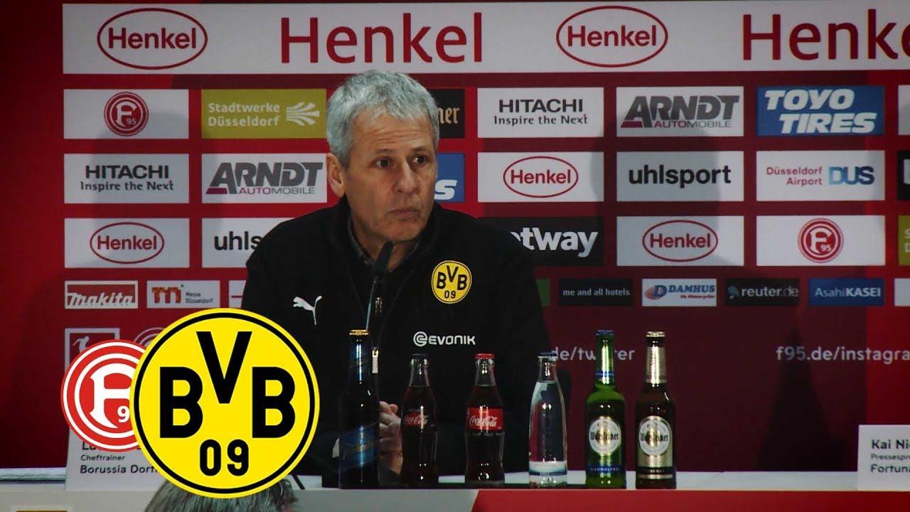 Joker-Paco trifft erneut | PK mit Lucien Favre | Fortuna Düsseldorf - BVB 2:1