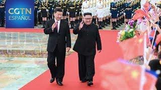 Xi Jinping recibe a Kim Jong Un en Beijing