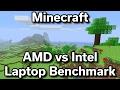 Minecraft - AMD Radeon R2 vs Intel HD 620 - Benchmark