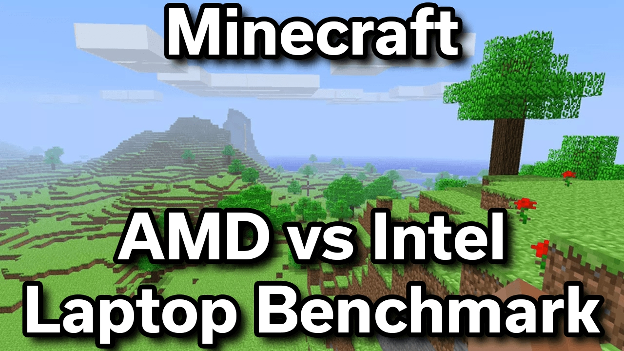Minecraft - AMD Radeon R2 vs Intel HD 620 - Benchmark