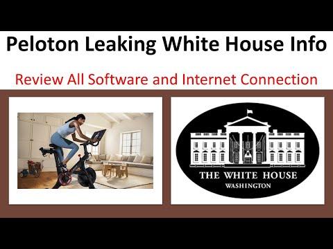Peloton Leaks Personal Data    President Biden rides a Peloton   Cybersecurity