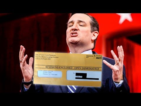 Ted Cruz Sent Out Fake Legal Summons to Scam People Into Donating