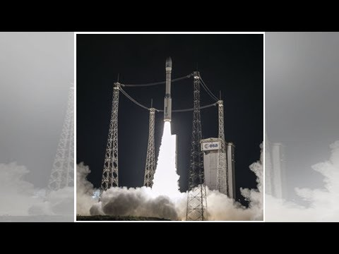 Vega rocket launches moroccan observation satellite into orbit