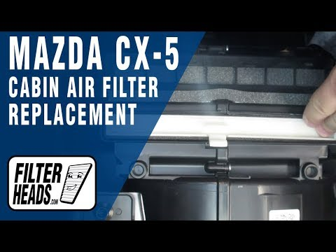 How to Replace Cabin Air Filter 2018 Mazda CX-5