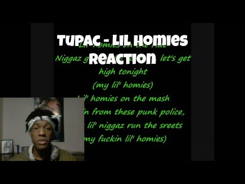 2Pac - Lil' Homies Reaction