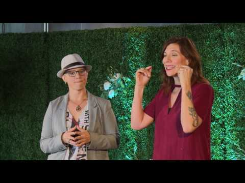Becoming Alive | Charlie Fisk & Carrie Schrader | TEDxOlympicBlvdWomen