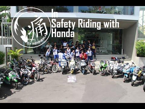 #8 / Ita Indonesia Reg. Jogja in Honda Safety Riding Course #motovlogindonesia