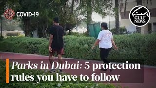 COVID-19: New rules for parks in Dubai