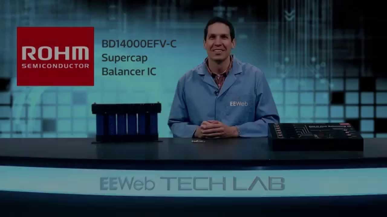 Supercap EDLC Cell Balancer IC (BD14000EFV-C)