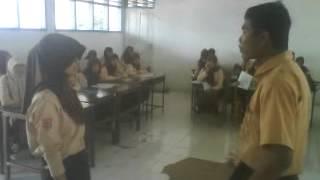 kelas x 7 sma negeri 1kelara praktek dialog bahasa inggris