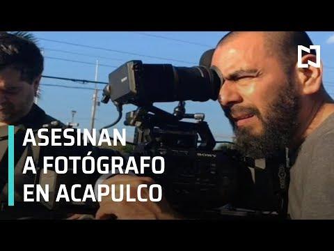 Asesinan al fotógrafo de Discovery Channel Erick Castillo en Acapulco - Las Noticias