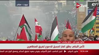 جورج علم: لبنان يتحمل عبئاً كبيراً من الأزمة الفلسطينية لوجود المخيمات على أرضه