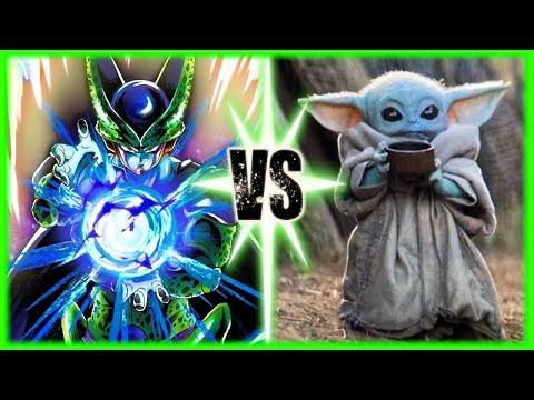 Perfect Cell Vs Baby Yoda