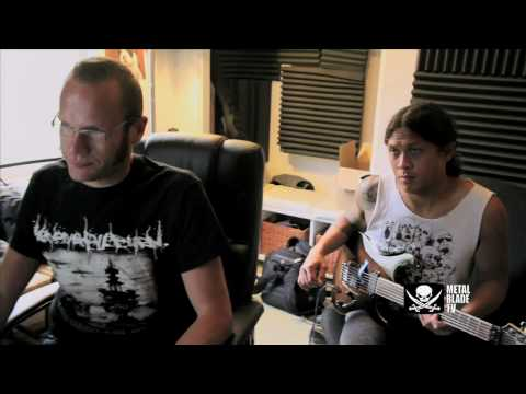 """As I Lay Dying """"The Powerless Rise"""" Studio Clip #4"""