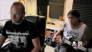 As I Lay Dying – The Powerless Rise – Studio Clip #4