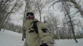 Snowboarding at Snowbird and Powder Mountain, Utah