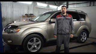 Mitsubishi Outlander XL куда смотреть при покупке,  мнение  эксперта, обзор авто от РДМ-Импорт