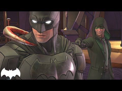 BATMAN - THE ENEMY WITHIN: NEW BATSUIT, RIDDLER IMAGES!