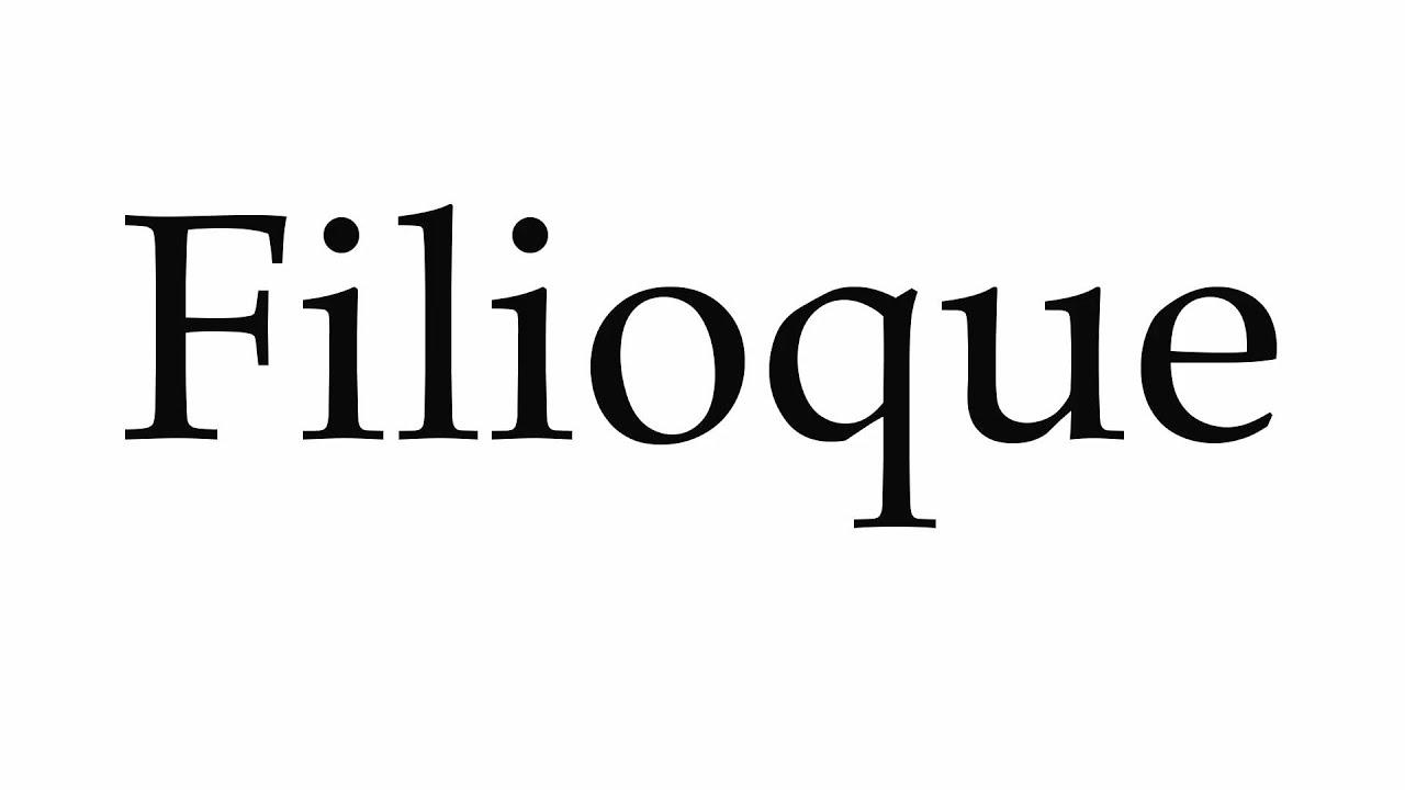 Αποτέλεσμα εικόνας για Το filioque