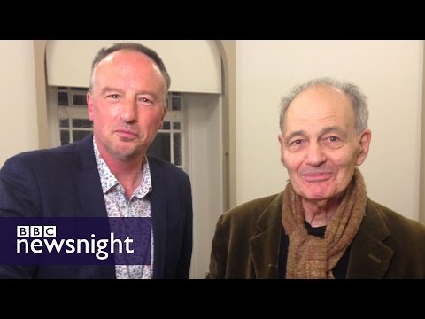 When Stephen Smith met artist Frank Auerbach - Newsnight